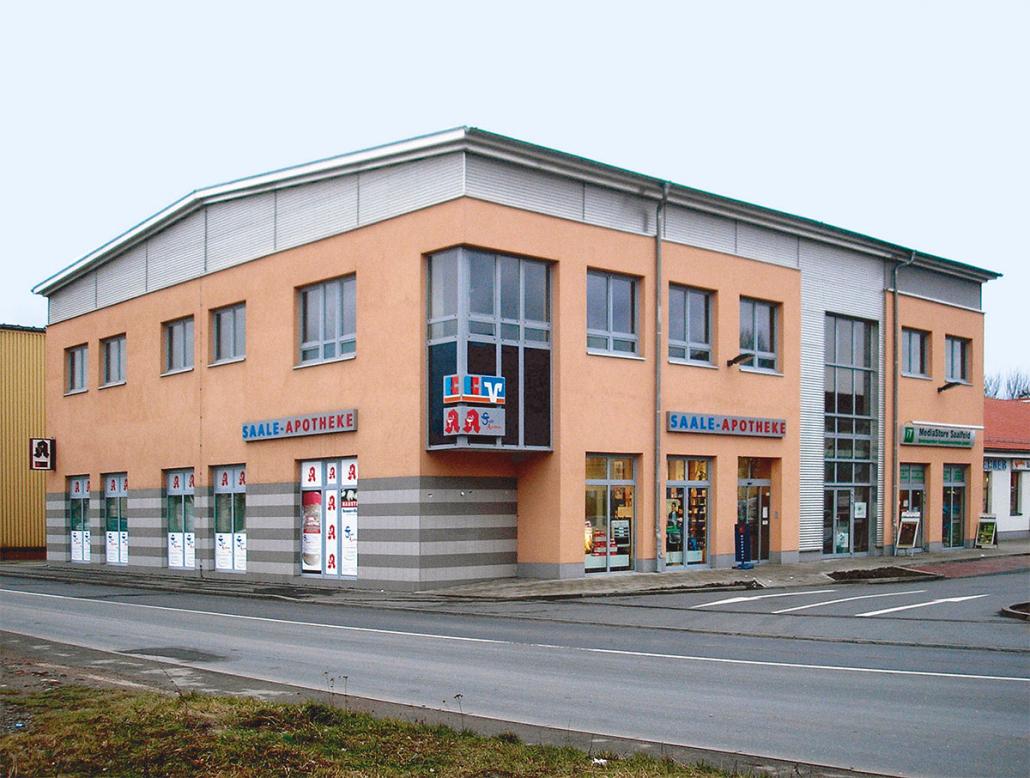 Einkaufszentrum Kulmbacher Straße in Saalfeld